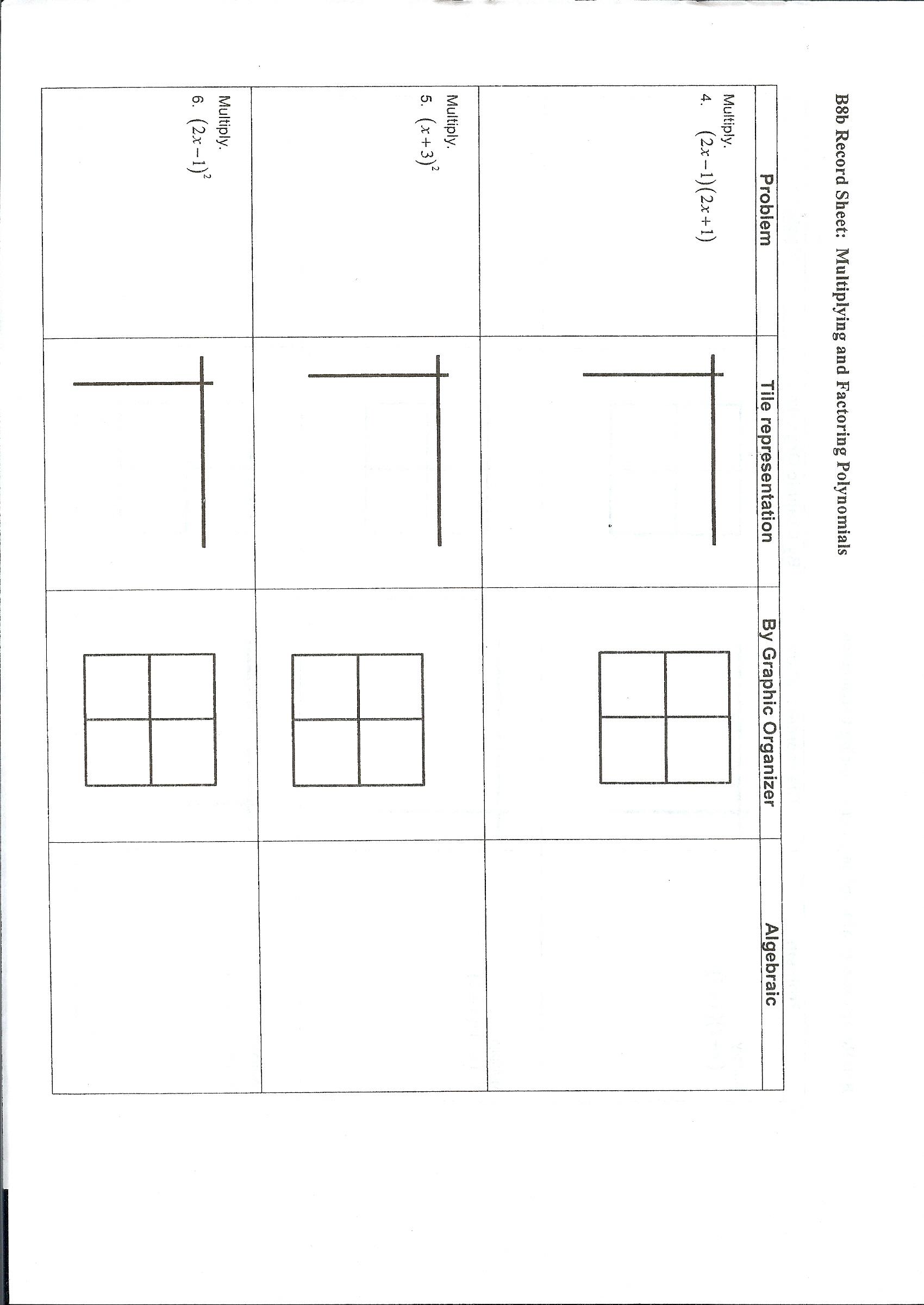 algebra tile template - northonjobs worksheet and essay site for children