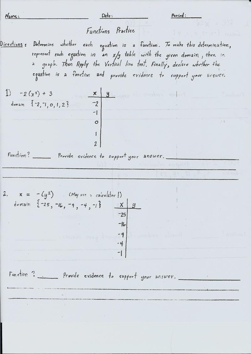 Need help with algebra 1 homework